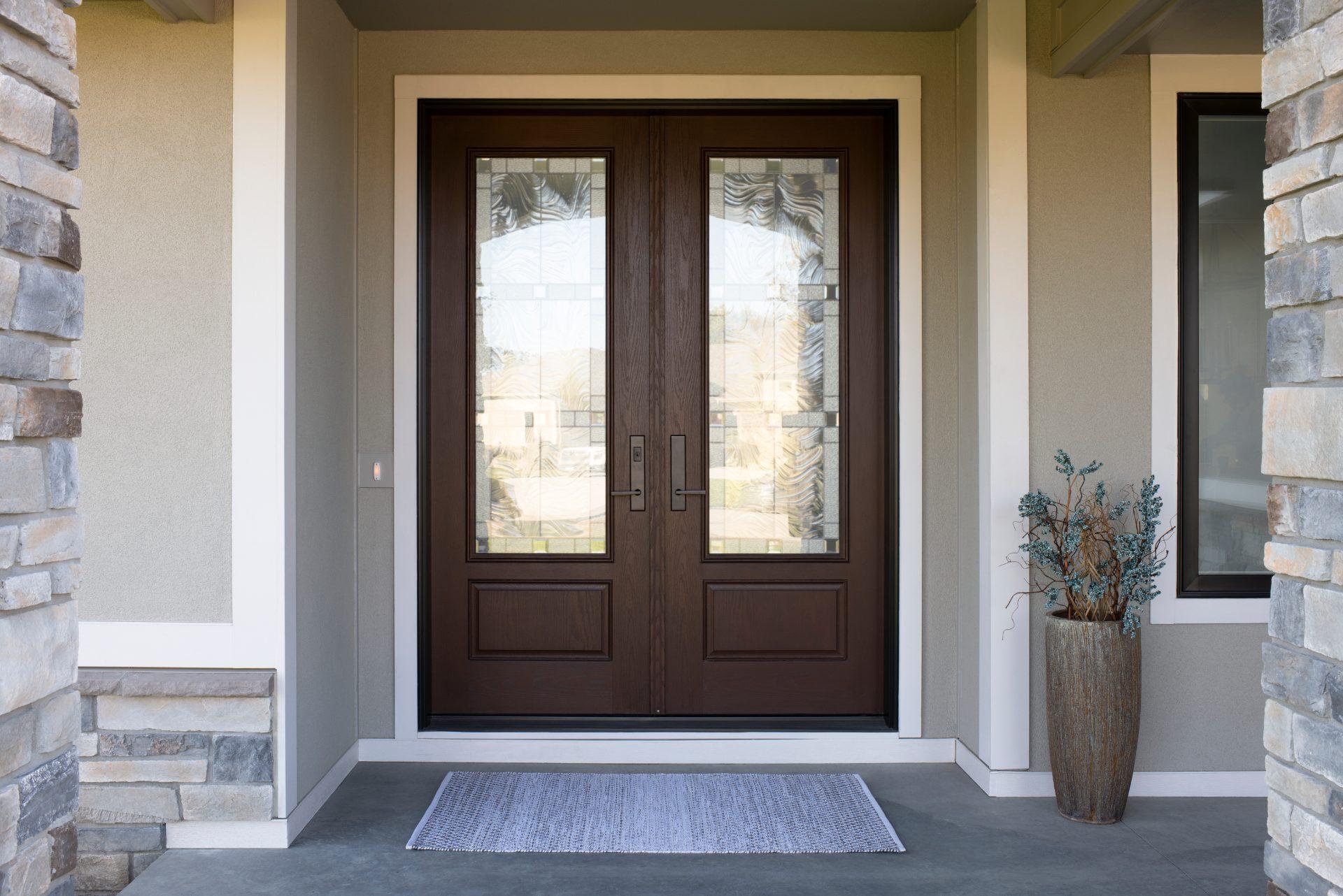 דלתות עץ אלומיניום