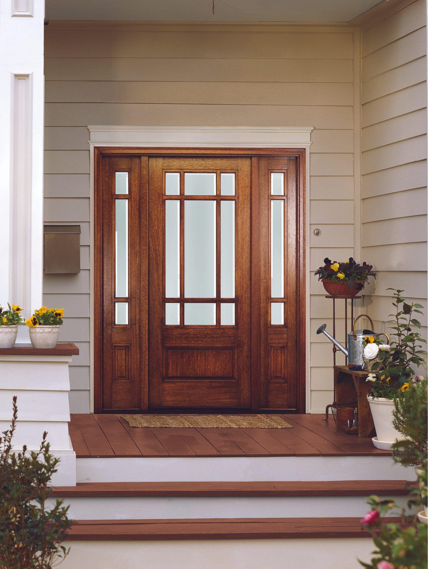 דלתות עץ