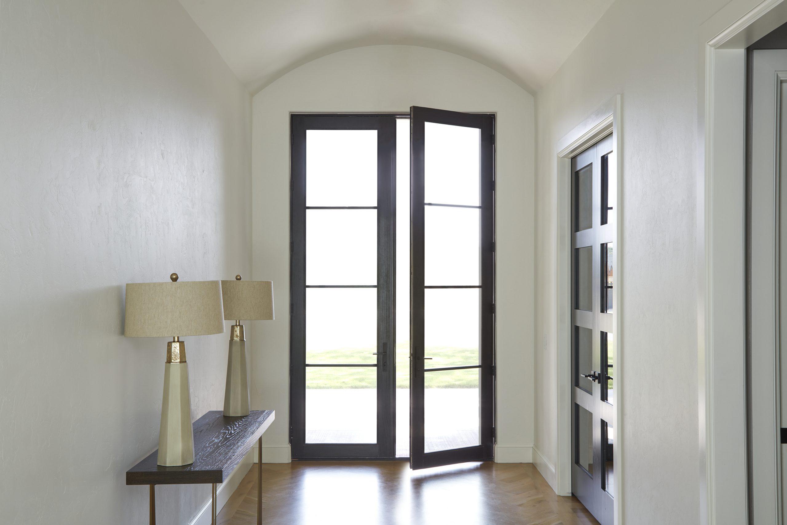 דלתות עץ בעיצוב יוקרתי